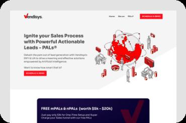 Vendisys Website